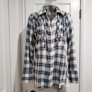 Seven7 Soft Button down Shirt 14/16